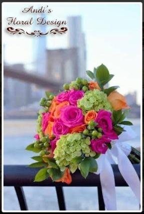 Floral design bouquets